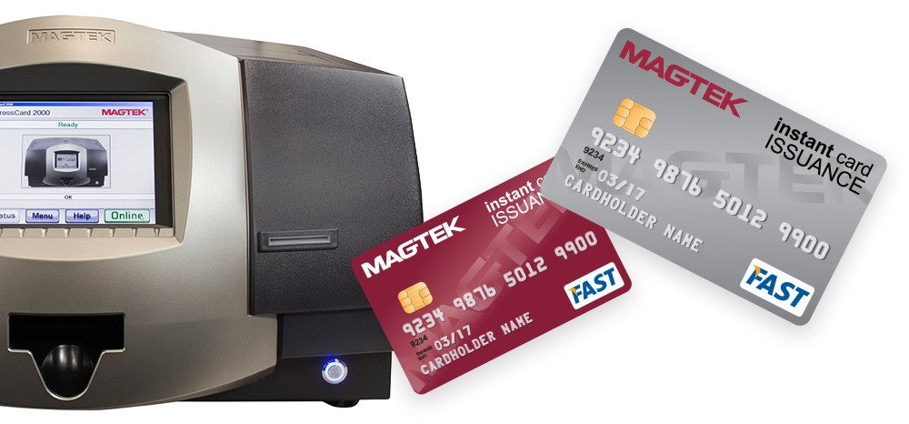 ExpressCard EMV 7 - Instant Issuance Card Printer, Encoder and Embosser
