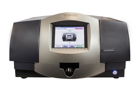 ExpressCard EMV Instant Card Issuance Printer & Embosser