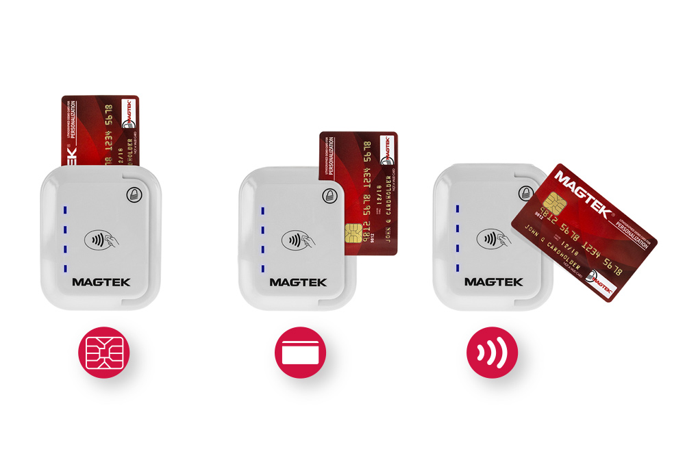 tDynamo -  tDynamo delivers contactless, chip card and magnetic stripe reading in a small form factor.