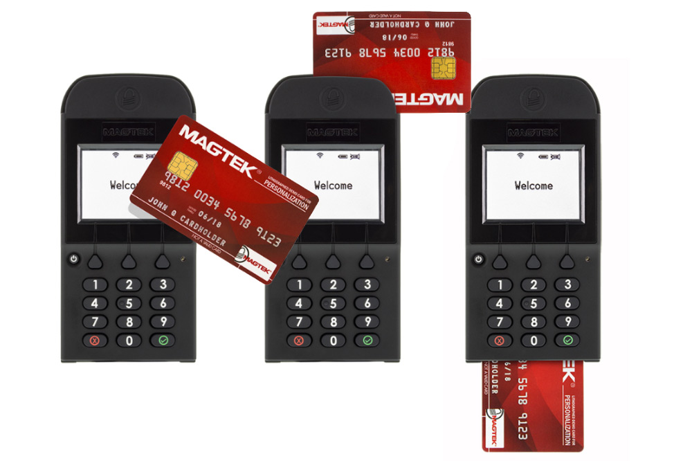 DynaPro Go Retail Banking PED -  Accepts secure PINs, magstripe, EMV contact and contactless, and optional NFC payment methods.