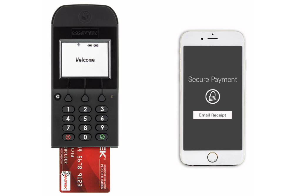 DynaPro Go Retail Banking PED -  Connect to iOS, MacOS, Android and Windows devices. Mobile PCI PED 4.x, SRED (pending). Industry standard 3DES encryption, DUKPT key management. In SRED mode it delivers a PIN pad device that can be integrated into a P2PE environment.